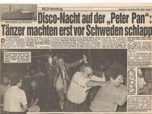 Bild Zeittung - Musikdampfer 1985