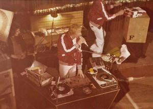 Vossi an der Fürstenhof Disco - vom ersten Rang fotographiert