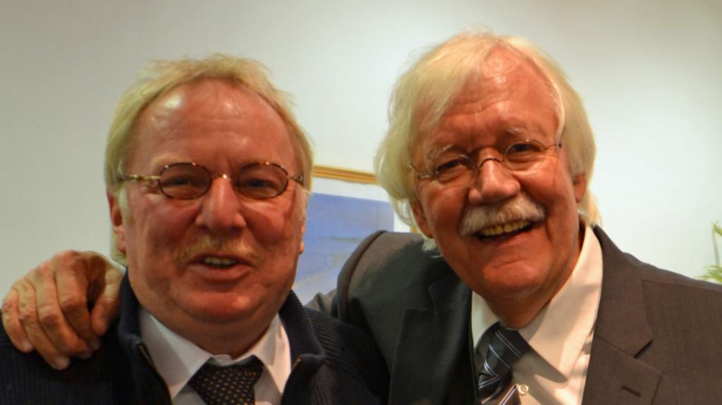 Vossi und Carlo von Tiedemann im Vitalia Seehotel 2012