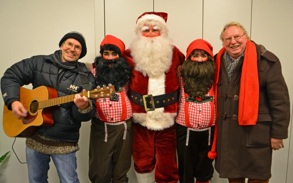 Das Weihnachtsmann-Dreamteam