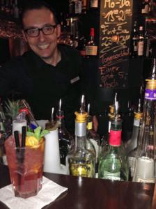 """..und es gab den """"Einer geht noch"""" - Cocktail für 5 Euro."""
